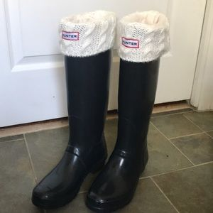 Hunter fleece lining sock!